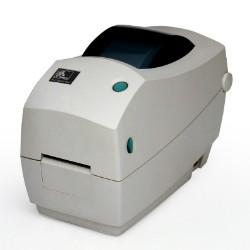 Impresora desktop de transferencia térmica TLP2824 de Zebra