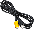 USB Printer Cable with Strain Relief for ZQ500 Series