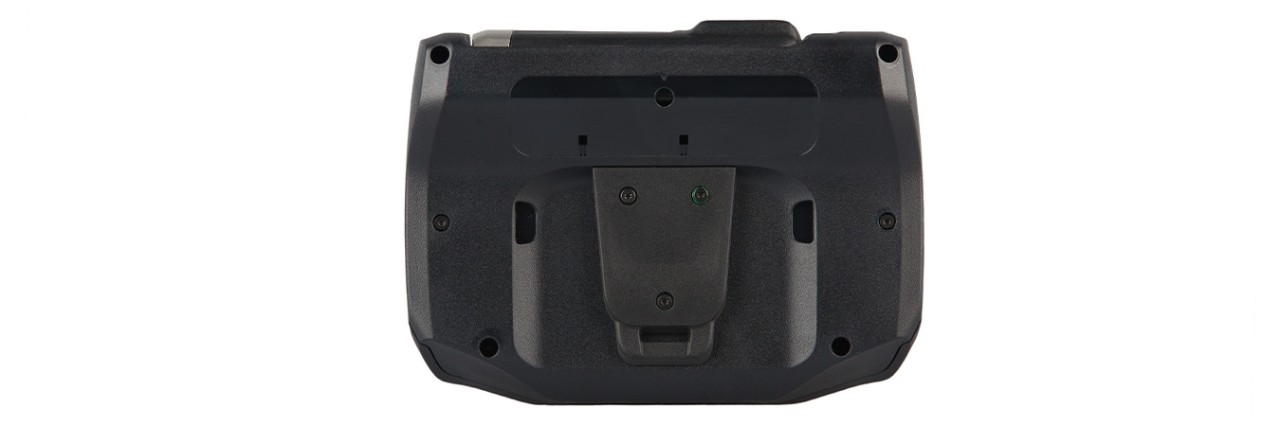 WT6000 Wearable Computer, Back View