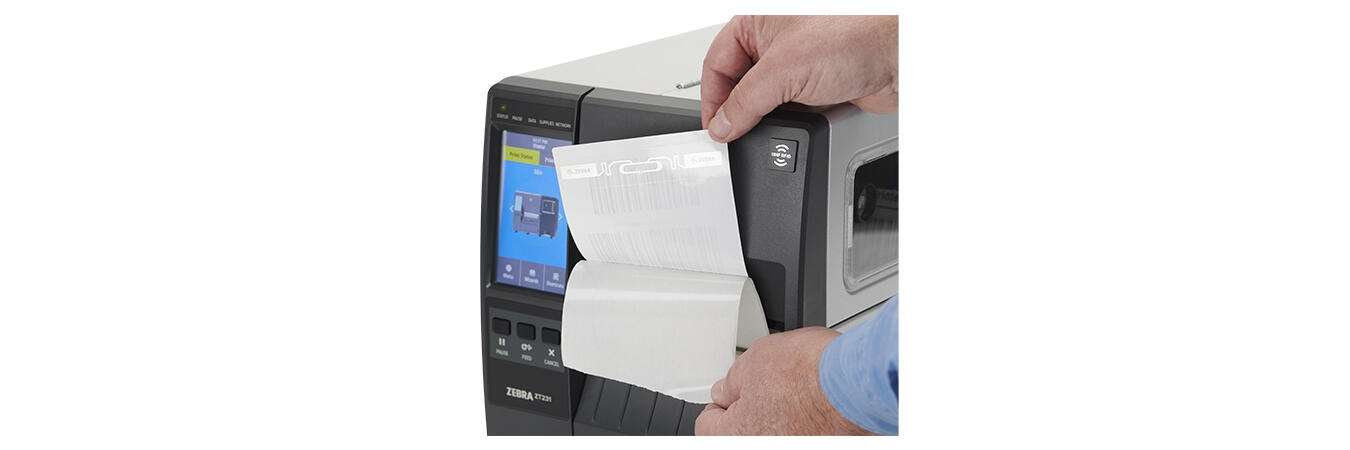 Zebra ZT230 Industrial Printer, Right View
