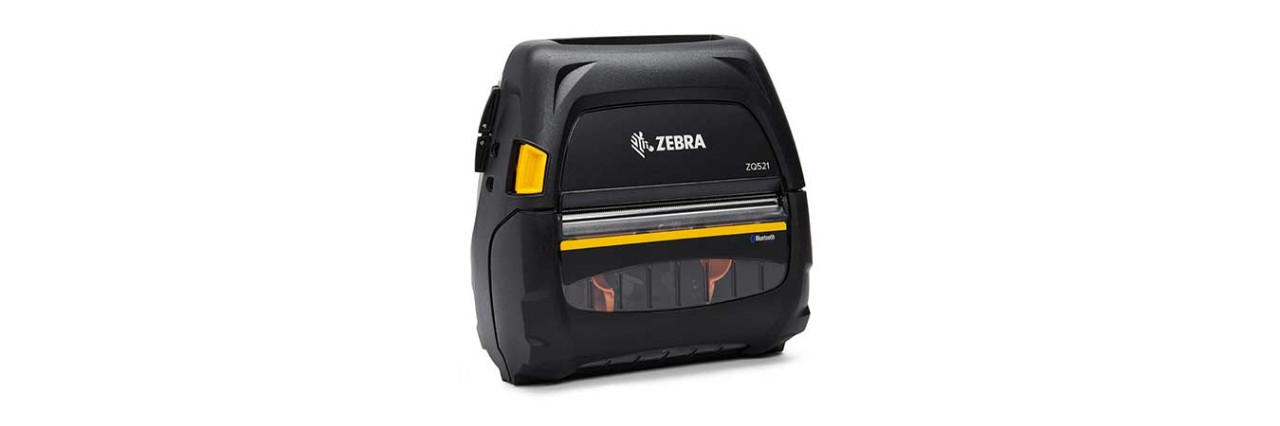 Zebra ZQ500 Mobile Printer, Top View