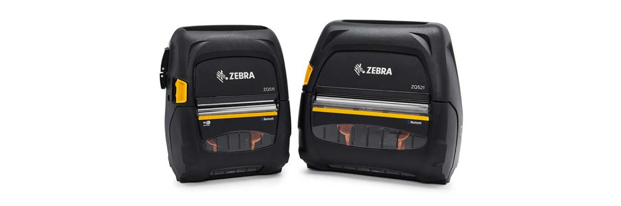 Zebra ZQ510 and ZQ520 Mobile Printers