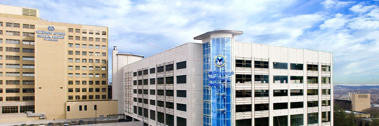 exterior of veteran affairs medical center