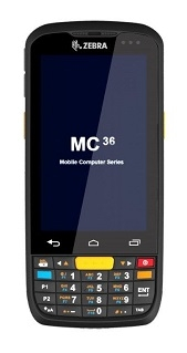 Zebra MC36 handheld computer