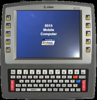 Zebra 8515 forklift computer