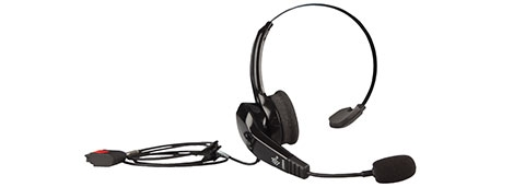 Zebra HS2100 corded headset