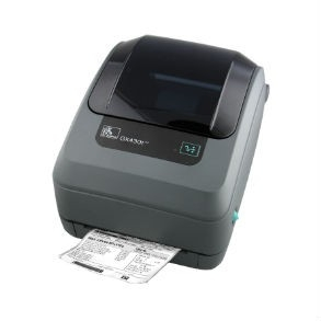 Stampante desktop GX430t di Zebra