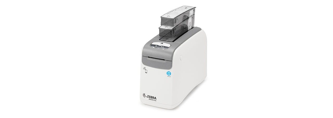 ZD510\u002DHC Desktopdrucker Kassetteninstallation