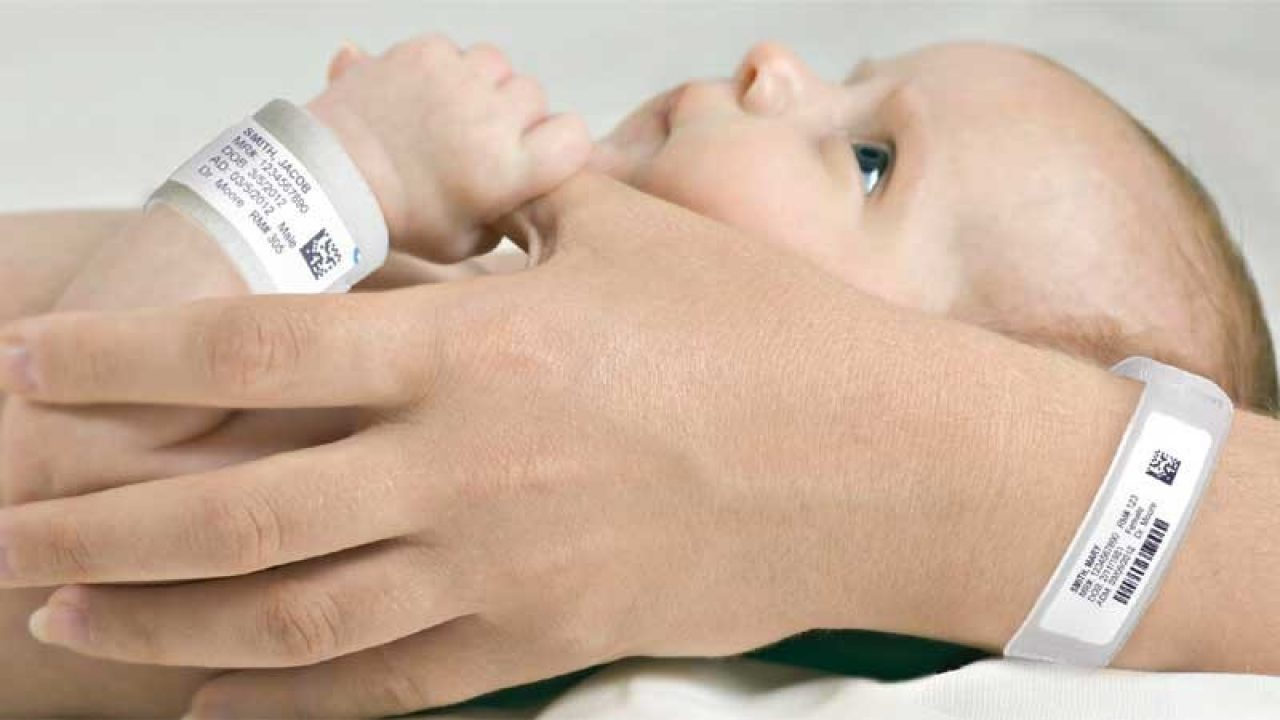infant care with wristband technology