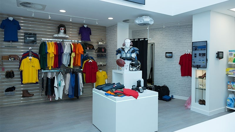 Retail and NFL Station at EMEA ZEC