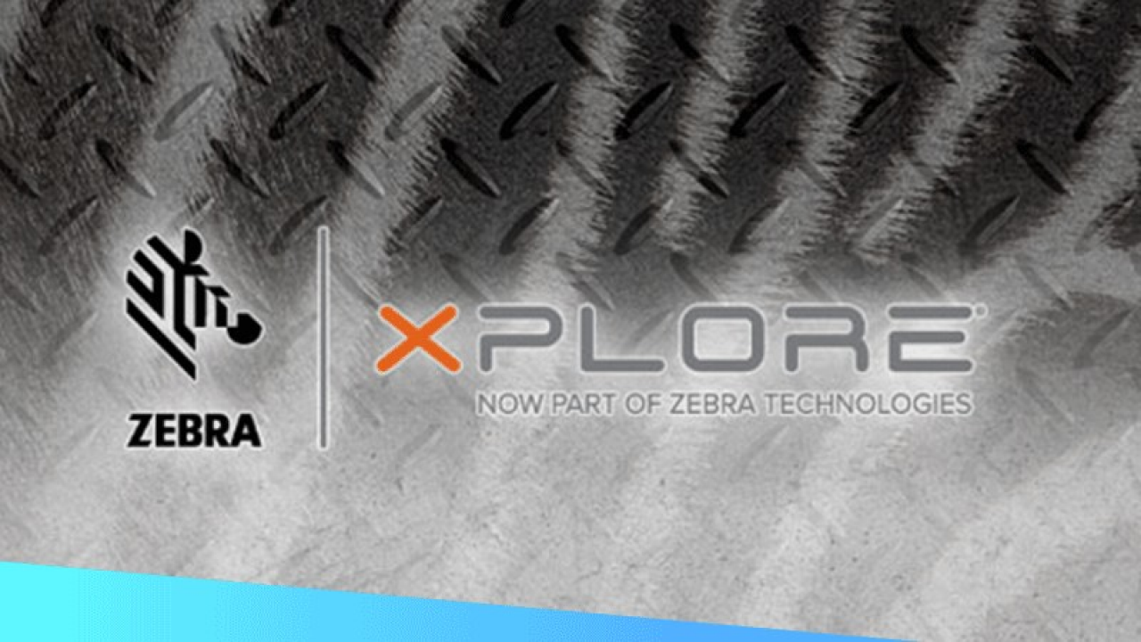 Zebra and Xplore logos