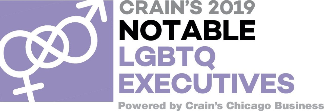 The logo for Crain`s 2019 Notable LGBTQ Executives