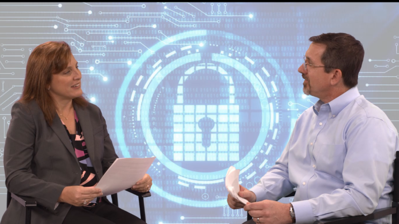 Therese Van Ryne and Mike Zachman discuss enterprise security challenges and Zebra`s solutions in a sit\u002Ddown interview.