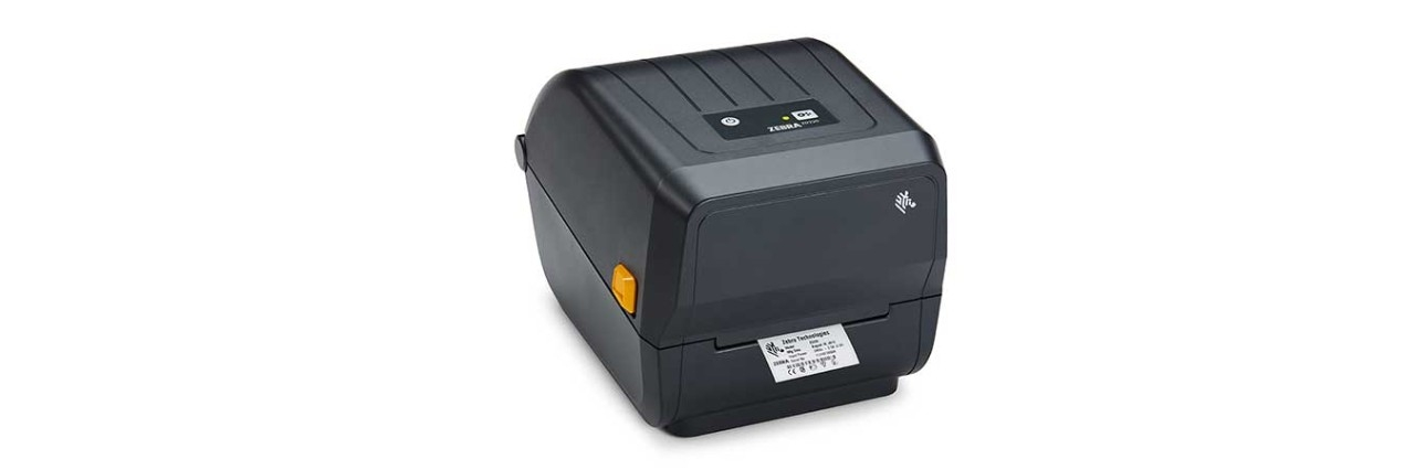 ZD220T Series Printer Right with Media