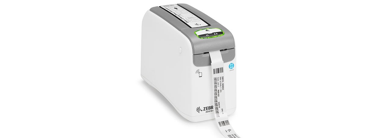 ZD510\u002DHC Desktop Printer Right Media