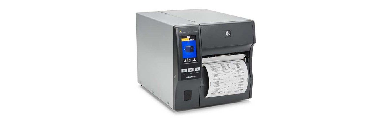 ZT421 Industrial Printer, With Media