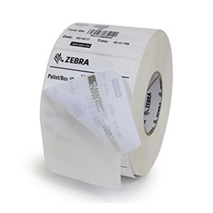 roll of Zebra RFID labels