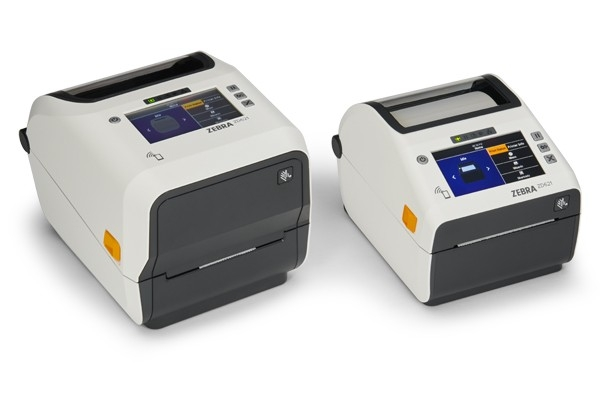 ZD621 Healthcare Desktop Printers Facing Right
