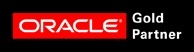 Oracle Gold Partnerのロゴ