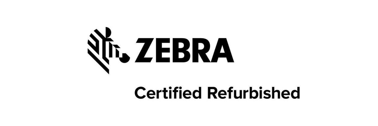 Logotipo de dispositivos reacondicionados certificados de Zebra