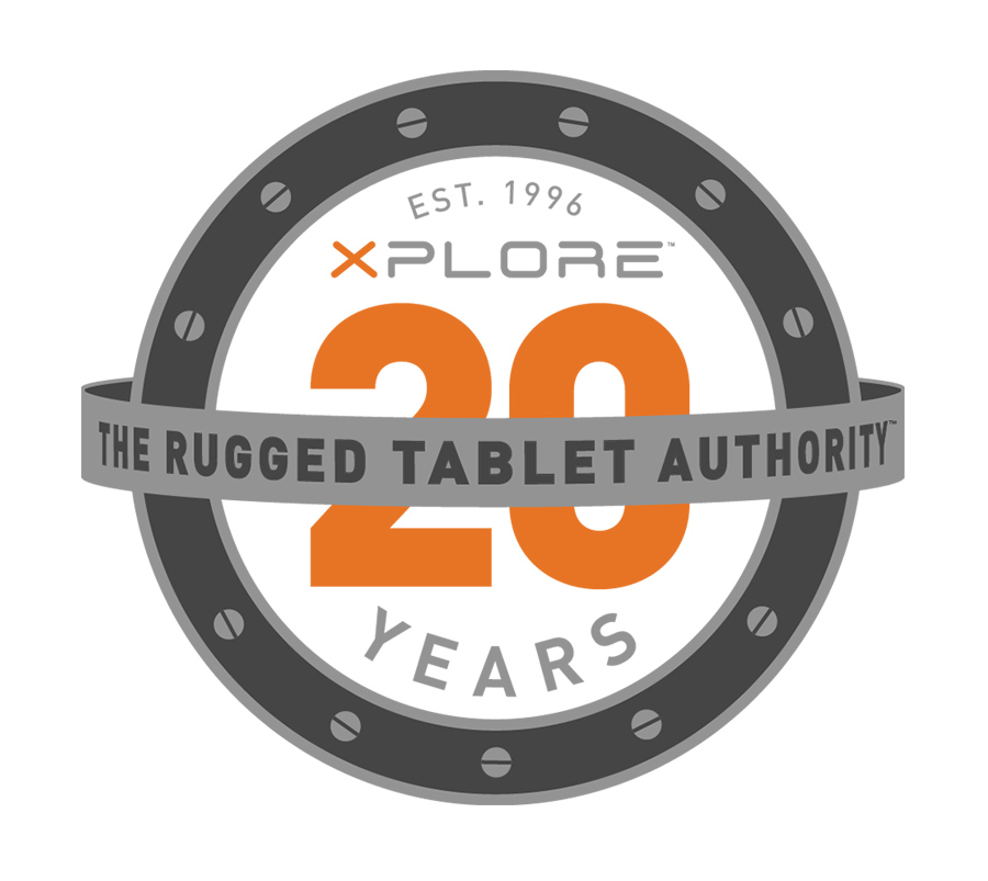 Xplore 20 years logo
