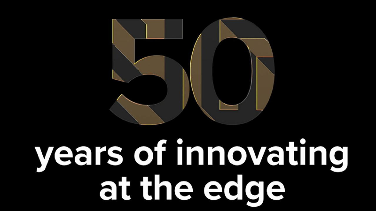 Zebra`s 50th anniversary logo: 50 years of innovating at the edge