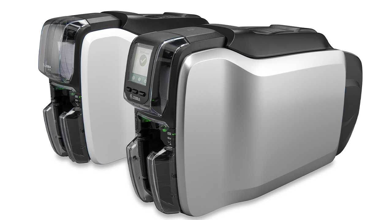 The Zebra ZC100 and ZC300 card printers