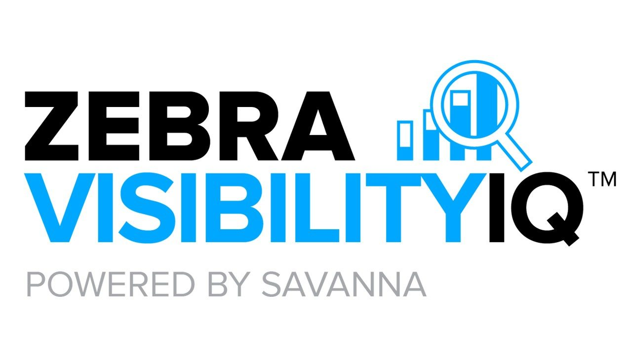 The logo for Zebra's new VisibilityIQ Foresight service, powered by Savanna
