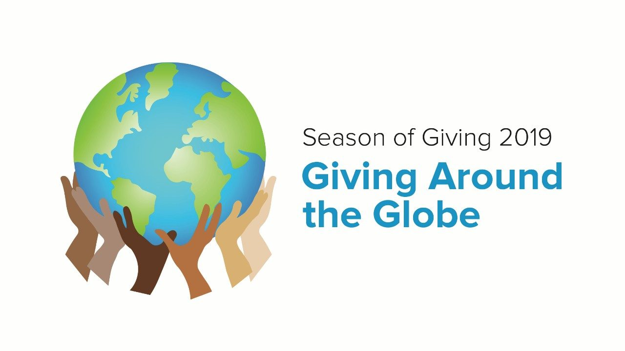 Zebra`s 2019 Season of Giving logo