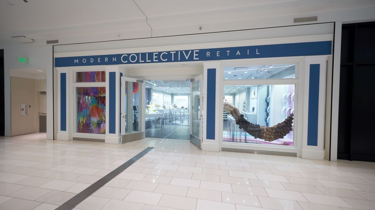 The front of the Modern Retail Collective store in Mall of America