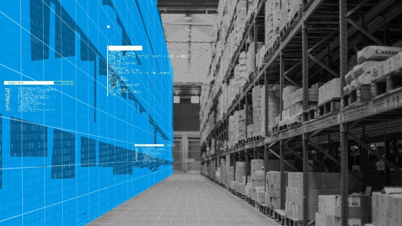 A look at a retail warehouse through the SmartLens dashboard