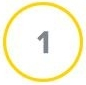 Number One  in a yellow circle