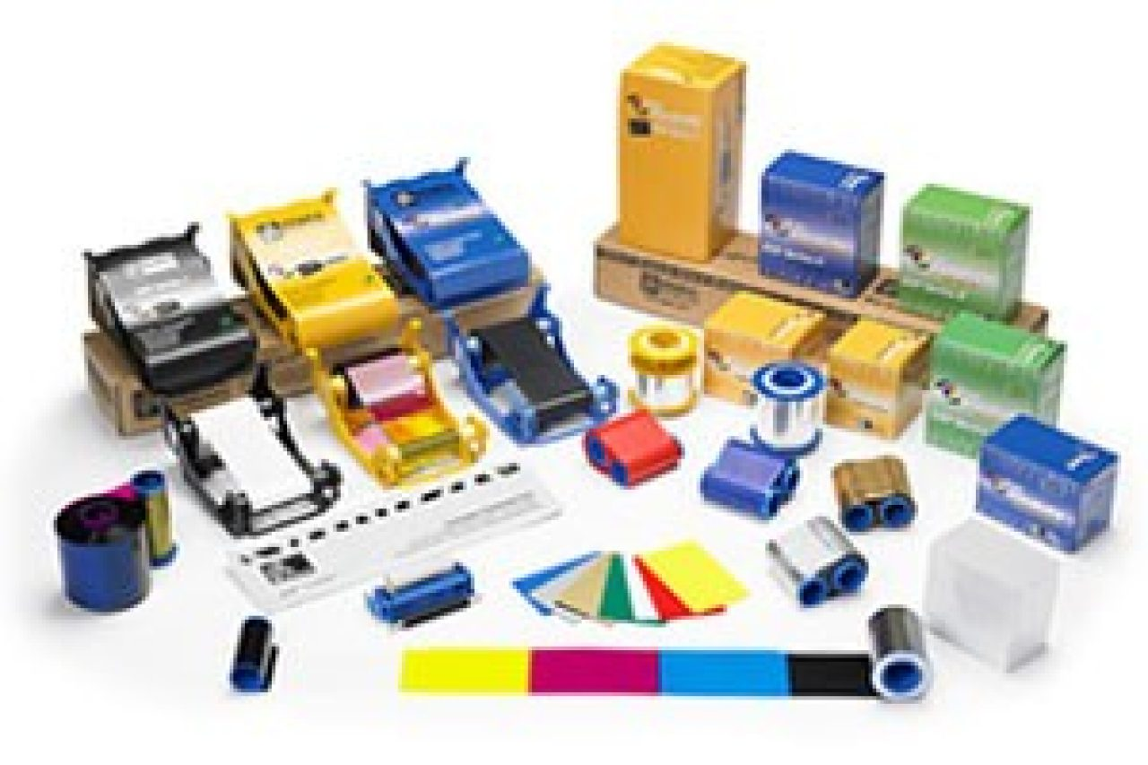 Zebre Certified Card Printer Supplies