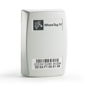 Zebra WhereTag active RFID tag