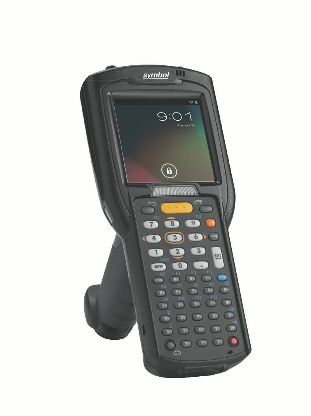 Zebra MC3200 Mobile Computer, Right View