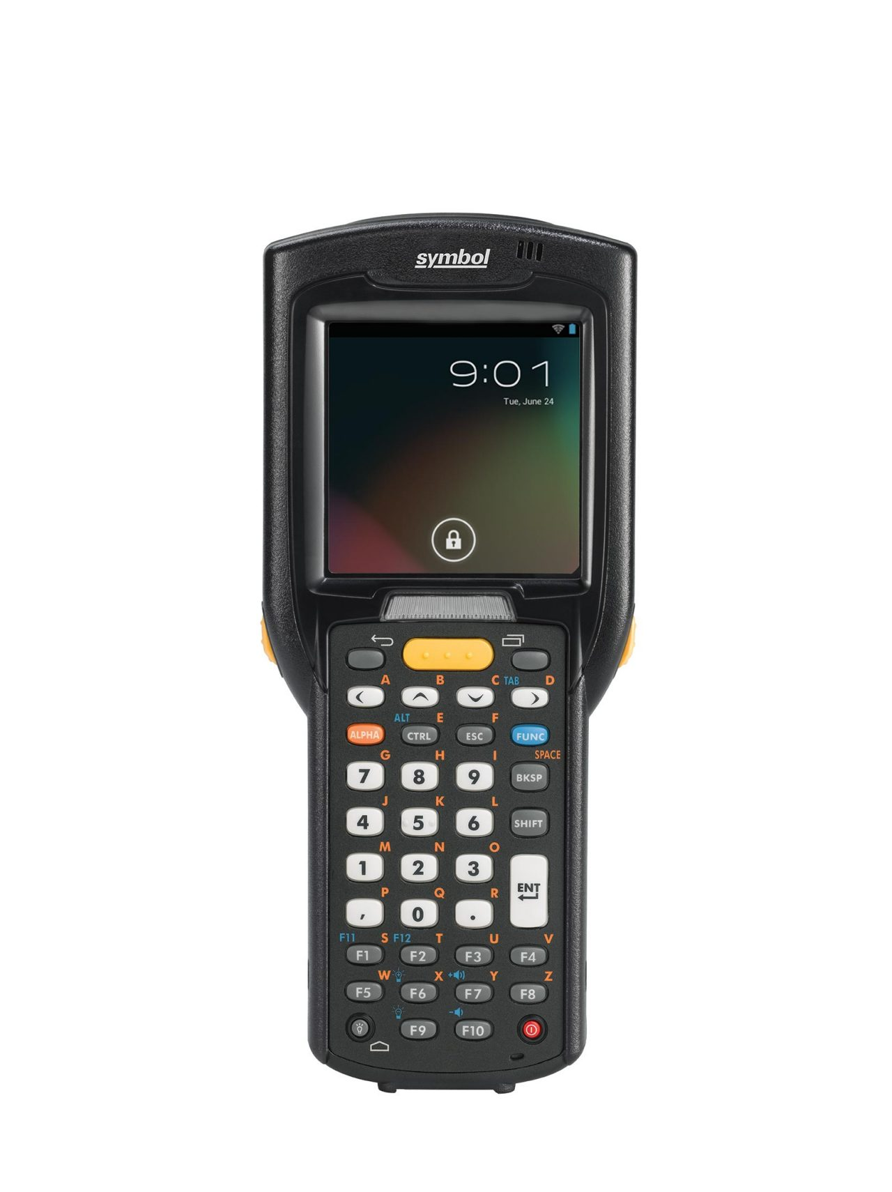 Zebra MC3200 Android Mobile Computer, Front View