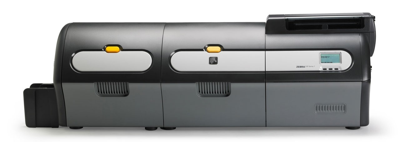 Zebra ZXP Series 7 with Laminator, Front View