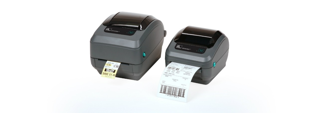 Labels /& Driver Zebra GK420T Thermal Barcode Printer USB /& Serial Parallel