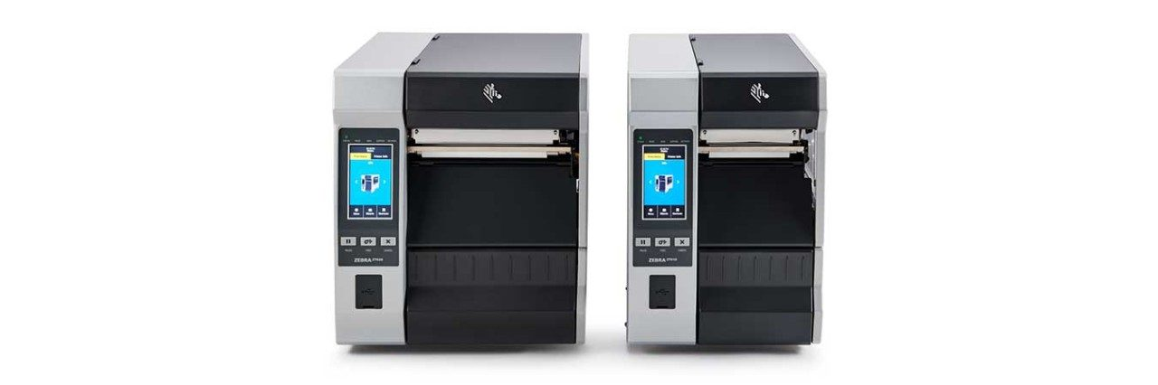 ZT600 Series Industrial Printers with Touch Screen, Group Shot
