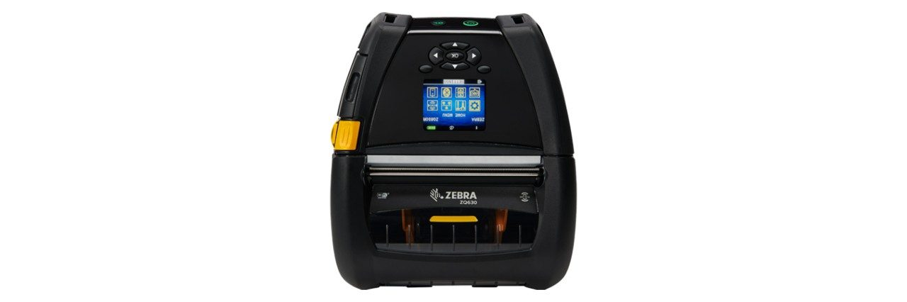 ZQ630 Mobile Printer Headon RFID