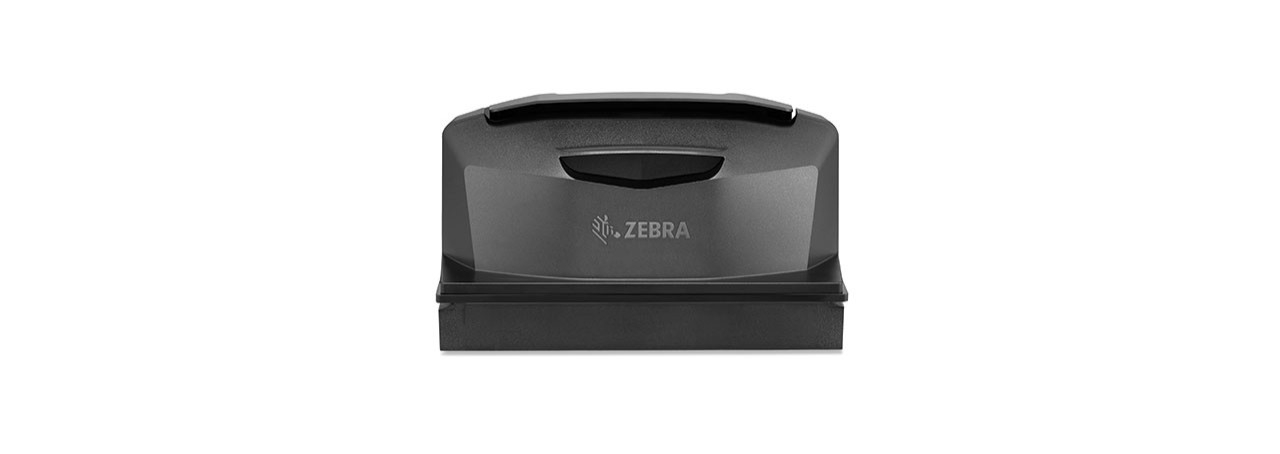 Back view of the counter portion of the Zebra MP7000 Grocery Scanner Scale