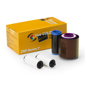 Rolls of Zebra Card Printer Ribbons