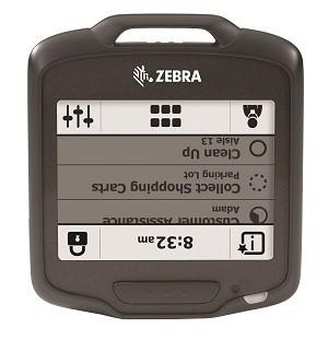 Insignia inteligente Zebra SB1 e insignia inteligente para el cuidado de la salud