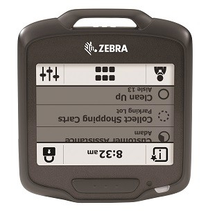 Zebra SB1スマートバッジとスマートバッジヘルスケア